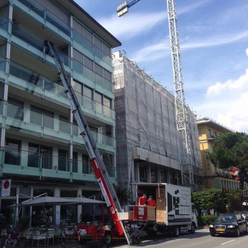 Carrello Elevatore - Marko Traslochi - Lugano Centro