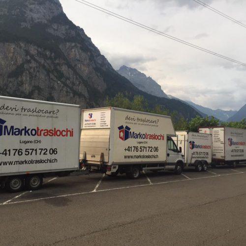Camion Coperti e Attrezzati per il Servizio Traslochi
